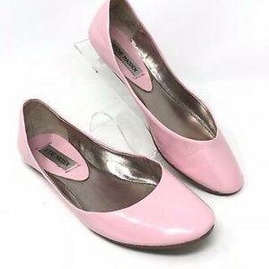 Steve Madden Heaven Patent Pink Flats